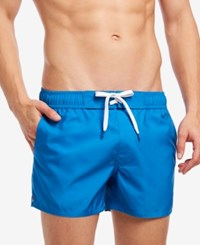 2Xist 2 X Ist Ibiza 4 Performance Swim Short Neon Blue