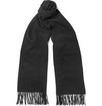 Acne Studios Canada Virgin Wool Scarf Black