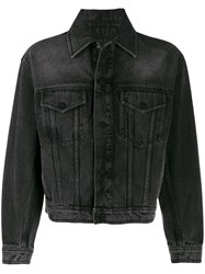 Ami Alexandre Mattiussi Paris Boxy Fit Denim Jacket 60