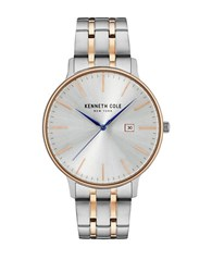 Kenneth Cole Stainless Steel Round Watch Two Tone