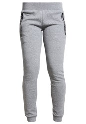 Superdry Tech Tracksuit Bottoms Speckle Charcoal Grey