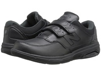 New Balance Mw813 Hook And Loop Black Men's Walking Shoes