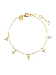 Accessorize Delicate Droplets Clasp Bracelet