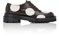 Marni Women's Circle Cutout Oxfords No Color