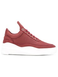 Filling Pieces Lace Up Sneakers Red