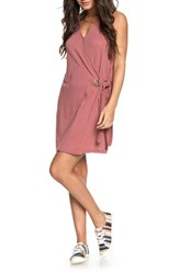 Roxy Rhythm Of Luck Cotton Shift Dress Withered Rose