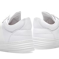 Filling Pieces Low Top Crossed Elastic Sneaker White