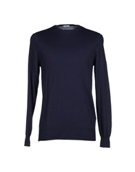 H Sio Knitwear Jumpers Men Azure