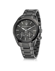 Maserati Pole Position Gunmetal Pvd Stainless Steel Men's Watch Dark Gray