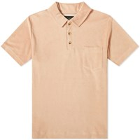 Howlin' Mr Fantasy Towelling Polo Brown