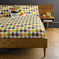 Orla Kiely Love Hearts Duvet Cover Multi