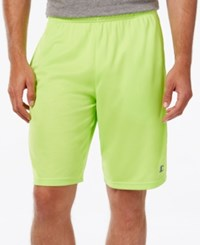 Champion Men's Powertrain Double Dry Tech Shorts Reflector Green