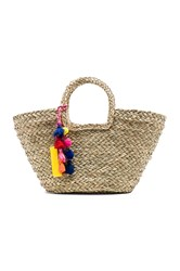 Hat Attack Charge It Tote Beige