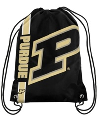Forever Collectibles Purdue Boilermakers Big Logo Drawstring Bag Navy