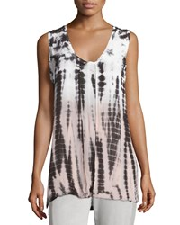 Xcvi Navya Tie Dye Sleeveless Top Tropical