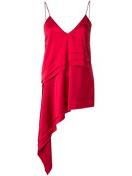 Manning Cartell Asymmetric Cami Top Red