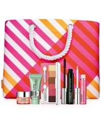 Clinique Summer In Clinique 6 Pc. Gift Only 34.50 With Clinique Purchase
