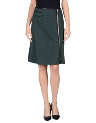 Boy By Band Of Outsiders Knee Length Skirts Dark Green