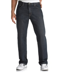 Levi's Big And Tall 559 Relaxed Straight Fit Range Jeans Tumbled Rigid