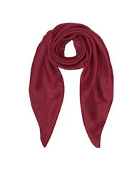 Forzieri Square Scarves Pure Silk Square Scarf