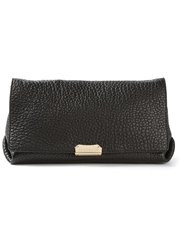 Burberry Front Flap Shoulder Bag Black