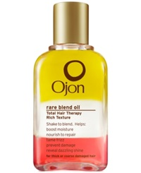 Ojon Rare Blend Total Hair Therapy Rich Texture 1.5 Oz