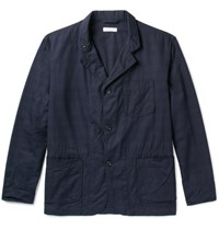 Engineered Garments Slim Fit Woven Cotton Jacket Navy