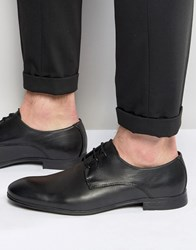 Jack And Jones Jack And Jones Leather Derby Shoes Black