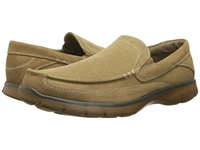 Dockers Ambrose Tan Washed Canvas Suede Men's Slip On Shoes