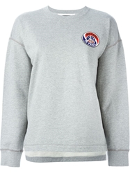 Marc By Marc Jacobs Crew Neck Sweatshirt Grey