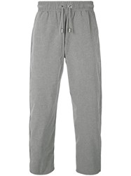 Blood Brother Cropped Track Pants Grey