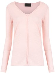 Andrea Bogosian Buttoned Blouse Pink