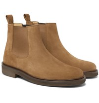 A.P.C. Simeon Suede Chelsea Boots Tan