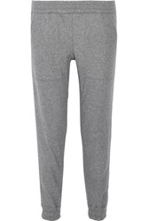 Nlst Wool And Cashmere Blend Track Pants Gray