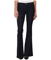 Level 99 Dahlia Fit And Flare In Guilt Guilt Women's Jeans Black
