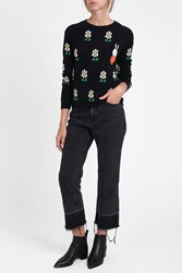 Chinti And Parker Women S Miffy Daisy Jumper Boutique1 Navy