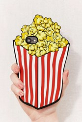 Urban Outfitters Popcorn Silicone Iphone 8 7 6 Case Yellow