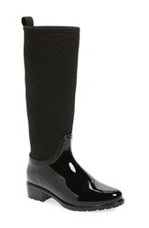 Dav Women's Parma Quilted Tall Waterproof Rain Boot