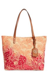 Tommy Bahama Palm Beach Tote Orange Warm Combo
