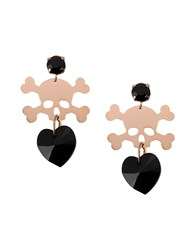 First People First Jewellery Earrings Women Black