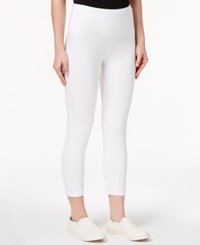 Styleandco. Style Co Petite Cropped Yoga Leggings Created For Macy's Bright White