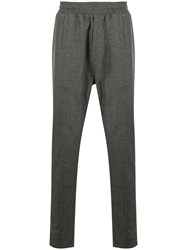 Low Brand Elasticated Waist Tailored Trousers Grey