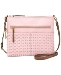 Fossil Fiona Burnished Lilac Small Crossbody