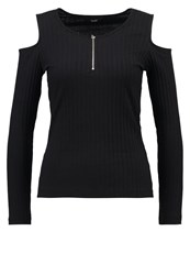 Only Onlpoppy Long Sleeved Top Black
