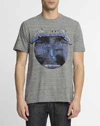 Eleven Paris Speckled Grey Metallica T Shirt