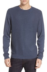 Calibrate Honeycomb Crewneck Sweater Grey Folkstone