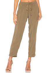 Michael Stars Tapered Pant Green