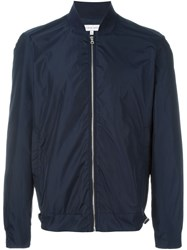 Orlebar Brown 'Fairley' Bomber Jacket Blue