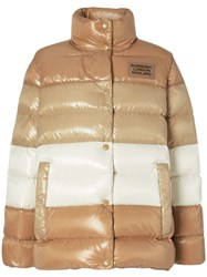 Burberry Panelled Nylon Puffer Jacket With Detachable Sleeves 60