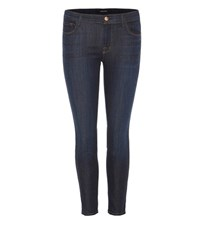 J Brand Low Rise Super Skinny Ankle Jeans Blue